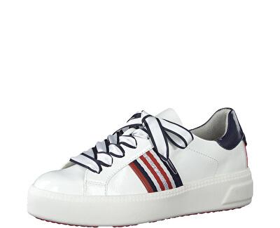 Teniși pentru femei 1-1-23750-24-115 White Pat.Comb