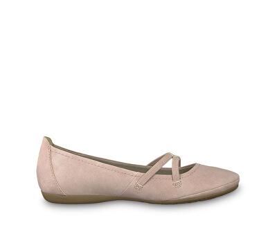Dámske baleríny 1-1-22110-22 -521 Rose