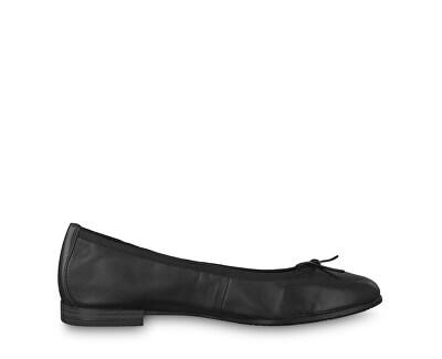 Elegantní dámské baleríny 1-1-22116-22-001 Black