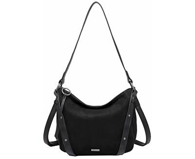 Poțetă pentru femei ALBY Hobo Bag S Black Comb