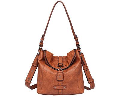 Geantă pentru femei BERNADETTE Hobo Bag S Cognac