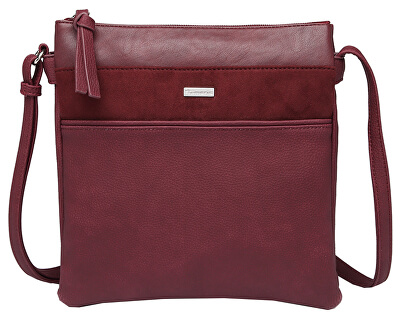 Geantă pentru femei KHEMA Crossbody Bag M Bordeaux Comb