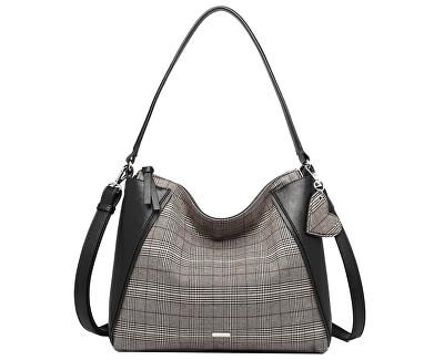 Dámska kabelka NELLI Hobo Bag Black Comb.