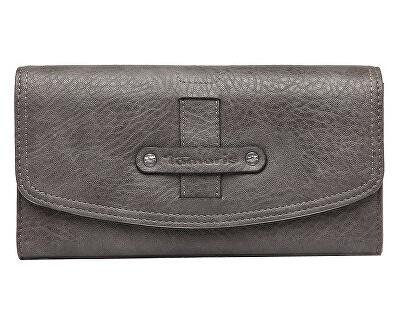 Portofel pentru femei BERNADETTE Big Wallet With Flap Grey
