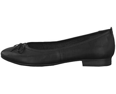 Dámske baleríny 1-1-22114-23-001 Black
