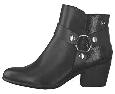 Dámske členkové topánky 1-1-25078-23-001 Black