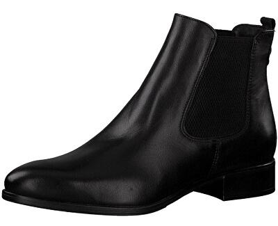 Tamaris Dámské kotníkové boty 1-1-25388-21-003 Black Leather