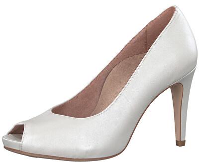 KEDVEZMÉNY - Női szivattyúk 1-1-29301-20-101 White gyöngy.