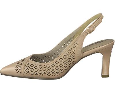 Pantofi cu toc pentru femei 1-1-29610-24-521 Rose