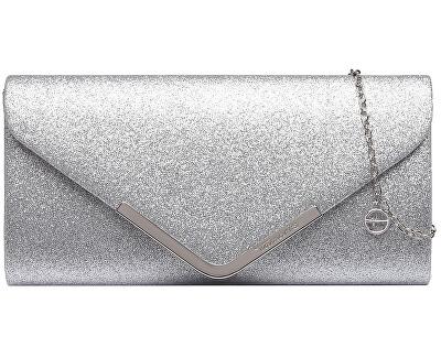 Ambreiaj pentru femei BRIANNA Clutch Bag Silver