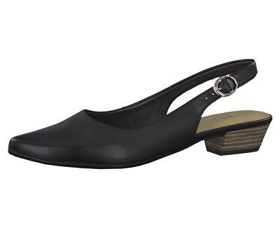 Dámské lodičky 1-1-29400-22-003 Black Leather