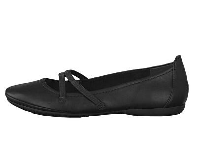 Dámské baleríny 1-1-22110-22-001 Black