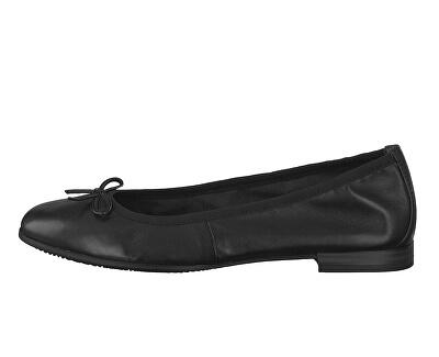 Elegantnej dámské baleríny 1-1-22116-22 -001 Black