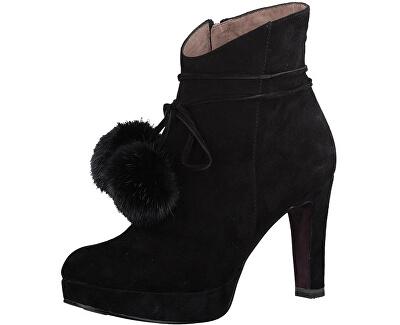 Elegantní dámské kotníkové boty 1-1-25948-39-001 Black