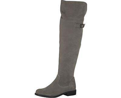 Tamaris Elegantní dámské kozačky 1-1-25811-29-200 Grey