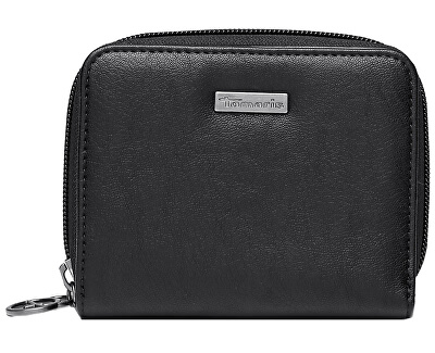 Peňaženka Donna Small Zip around wallet w. snap 7231192-001 Black
