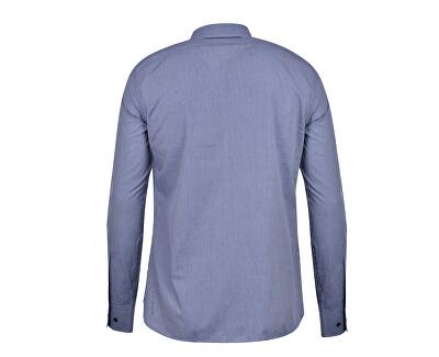 Cămașă pentru bărbați Miami Collar 52C00111-U290 Navy Blue