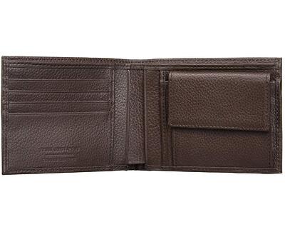 Pánská peněženka Pocket Tumbled 71W00004-B220 Dark Brown