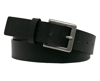 Pánský opasek Tici Belt  Logo Embossed 71L00108-K299 Black