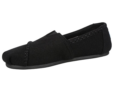 Dámské Slip-On Blk Wool/Shearling Seasonal Classic