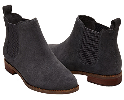 Dámské šedé boty Fi Grey Suede Ella