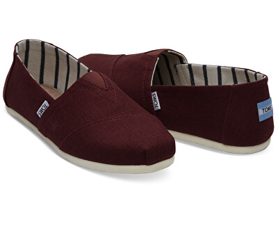 Pánské Slip-On Black Cherry Heritage Canvas Alpargata