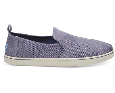 13020df975 TOMS Dámske Slip-on State Blue Washed Twill Deconstructed Alpargata ...