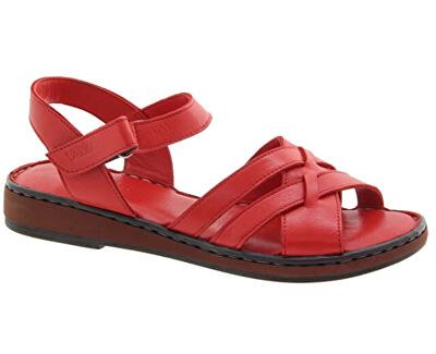 Dámske kožené sandále 20981200-397 Red