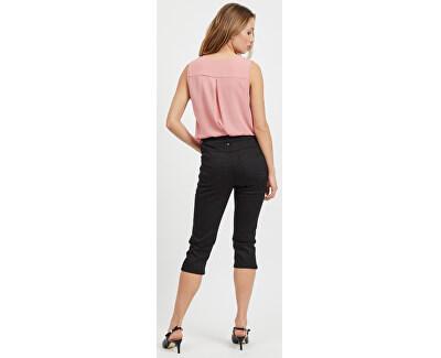 Dámské kalhoty Commit Rw Capri P0017 Buttons/2 Black