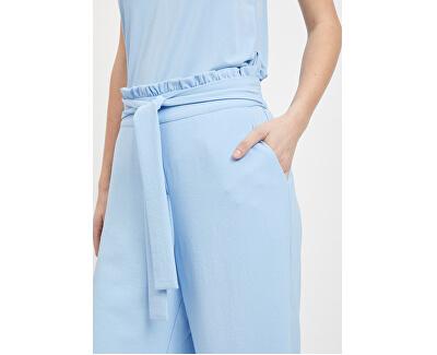 Dámske nohavice Virasha Hw Cropped Wide Pant Pb/Kl Powder Blue