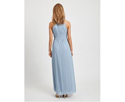 Női ruha VIMILINA HALTERNECK MAXI DRESS - NOOS Ashley Blue