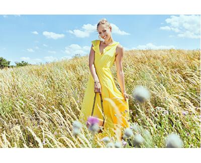 Dámske šaty Virannsil S/L Maxi Dress/Za Goldfinch