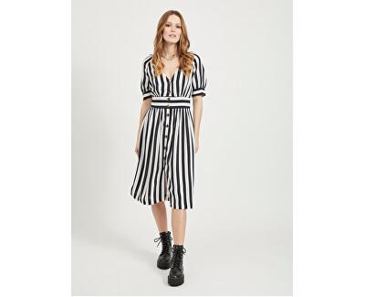 Damenkleid VISUSASSY schwarz/weiss