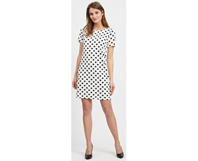 Dámske šaty VITINNY NEW S / S DRESS - LUX Snow White