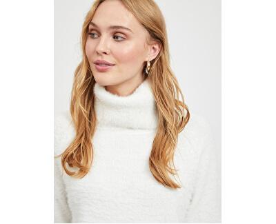 Dámsky sveter VIALINJA KNIT L / S TOP / KI White Alyssum