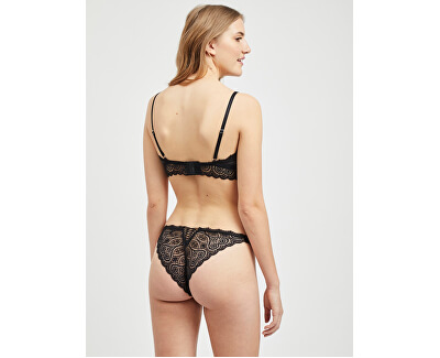 Dámsky set Valentina Lace Set Black