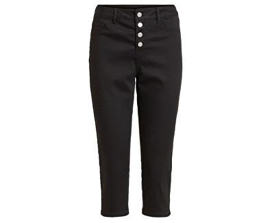 Női nadrágCommit Rw Capri P0017 Buttons/2 Black