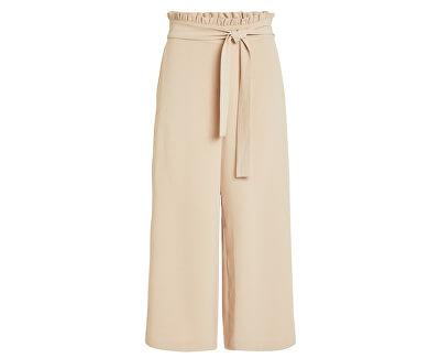 Dámske nohavice Virasha Hw Cropped Wide Pant Pb/Kl Soft Camel