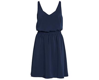 Női ruha Laia S/L V-neck Dress Noos Navy Blazer