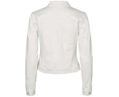 Dámska bunda Hot Soya Ls Denim Jacket Mix Noos Bright White