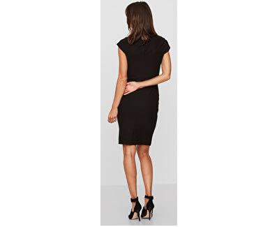 Dámske šaty Jonie Cap Sleeve Hab Dress Noosa Black