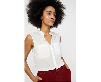 Női felsőErika S/L Solid Shirt Color Snow White