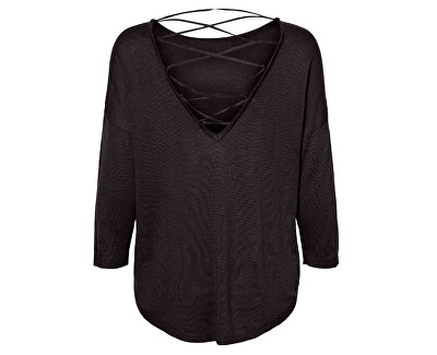 Dámska blúzka VMRAINI NEW 3/4 STRING Blouse Black