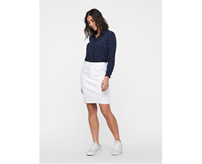 Női szoknya Hot Nine Hw Dnm Pencil Skirt Mix Noos Bright White