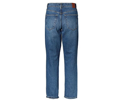 Jeans VMSARA MR RELAXED STR J BA385 NOOS GA CI Medium Blue Denim