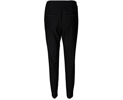 Dámské kalhoty Eva Mr Loose Pinstripe Pants Noos Black White