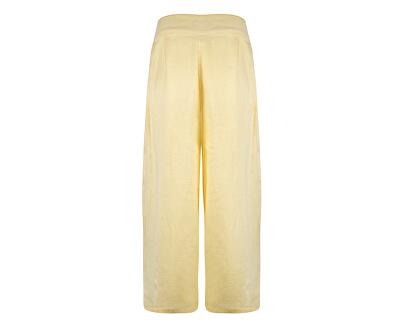Dámske nohavice Malli Coco Hw Pant Wvn Ki Mellow Yellow