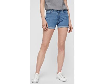 Dámske kraťasy Hot Seven Nw Dnm Fold Shorts Mix Noos Light Blue
