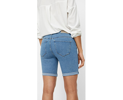 Dámske kraťasy Hot Seven Nw Dnm Long F Shorts Mix Noos Light Blue