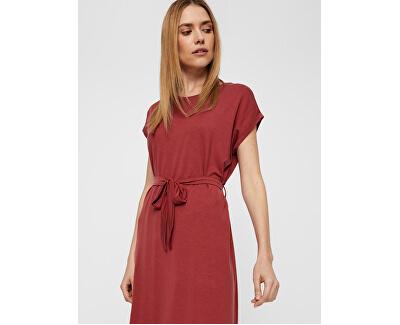 Dámske šaty Ava Plain Ss Knee Dress Vma Cowhide